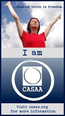 I Am CASAA logo