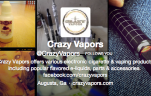 Following Crazy Vapors on Twitter offers many rewards.
